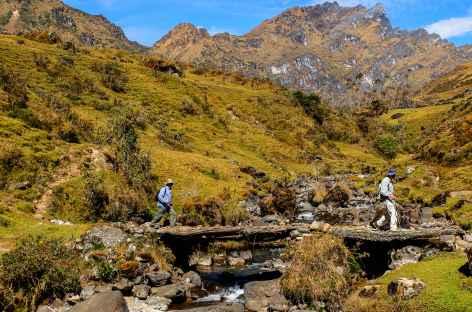 Descente vers Huancacalle - Pérou -