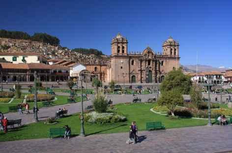 Cusco, la place d'Armes - Pérou -