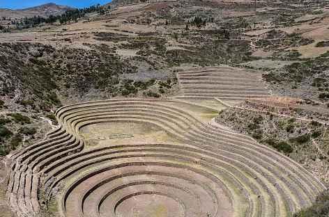 Les terrasses concentriques de Moray - Pérou -