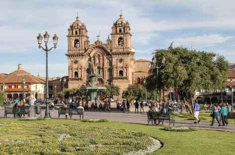 Cusco, la plaza de Armas - Pérou -
