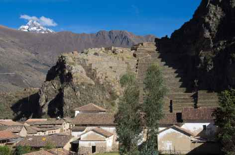 Le village et la forteresse d'Ollantaytambo - Pérou -