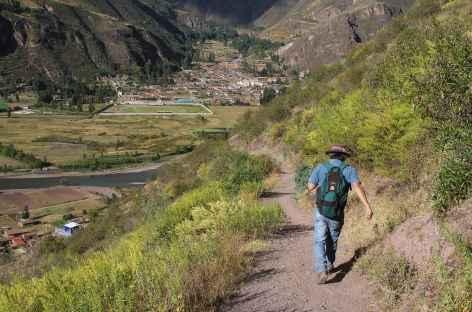 Descente vers Lamay - Pérou -