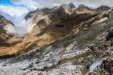 A l'approche du col Choqetacarpo - Pérou -