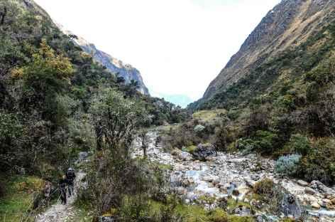 Le long de la rivière Yanama - Pérou -