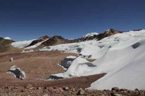 Au plus près des glaciers sur la Haute Route de Vilcanota - Pérou -