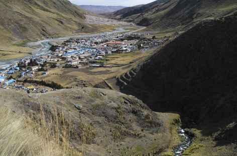 Le village de Mahuallani, point de départ pour la fête de Qollurity -