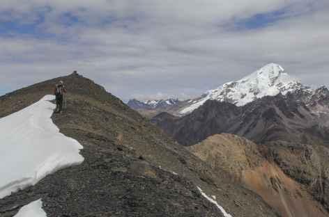 Au sommet du Huayhuro Punco - Pérou -