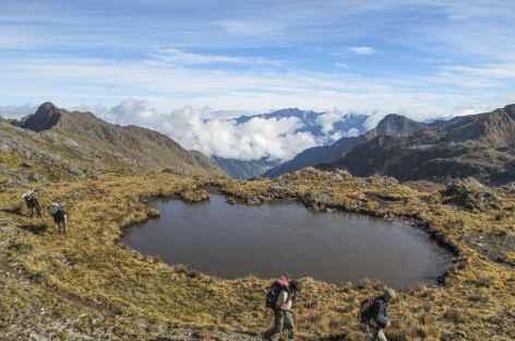 Montée au Col Mojon - Pérou -