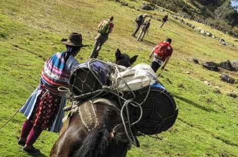 Départ de Huancacalle -