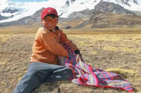 Rencontre avec un berger - Pérou -