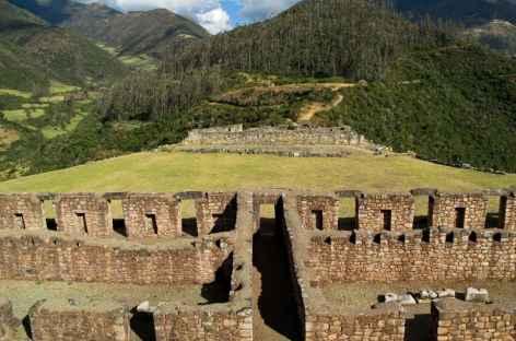 Site inca de Vitcos - Rosas Pata - Pérou -