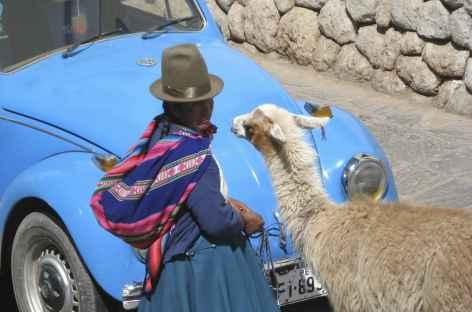 Ambiance indienne à Cusco - Pérou -