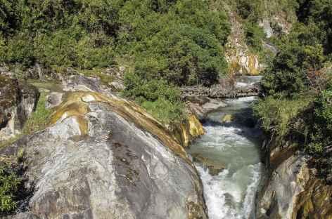 Arrivée sur le rio Yanatile -