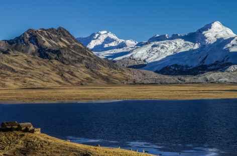 Un camp de rêve au bord de la lagune Ccascana - Pérou -