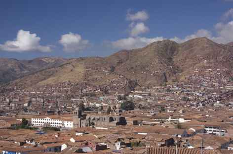 Les toits de tuile de la ville de Cusco - Pérou -