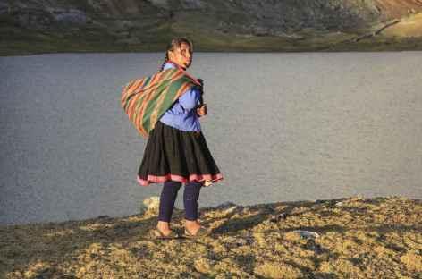 Rencontre dans la cordillère - Pérou -