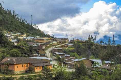 Arrivée au village de Huancacalle -