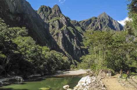 Arrivée sur le rio Urubamba -