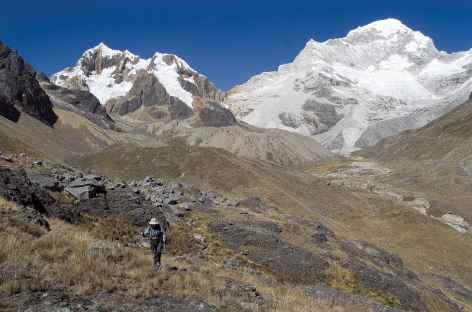 Marche vers le camp de base du Santa Cruz - Pérou -