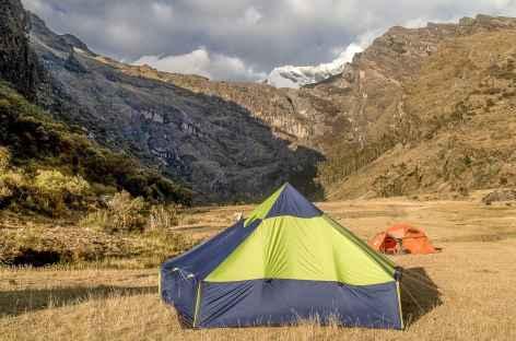 Notre camp à Ocshapampa - Pérou -