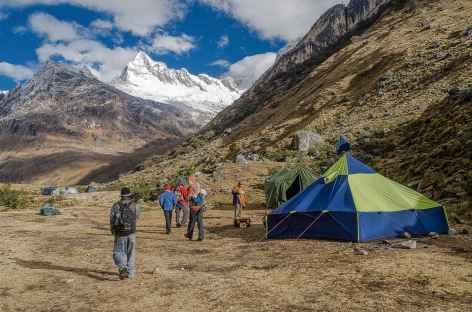 Camp à Tuctubamba - Pérou -