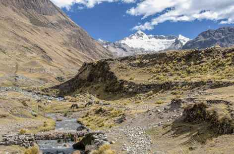 Vers le hameau de Huilca - Pérou -