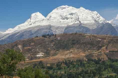 Vue sur le Huascaran depuis Carhuaz - Pérou -