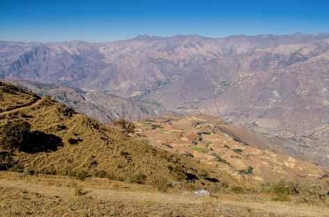 Montée entre Hualcayan et Wiscash - Pérou -