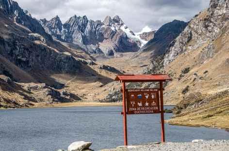 Balade autour de la lagune Querecocha - Pérou -