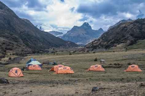 Notre camp à Juitush - Pérou -