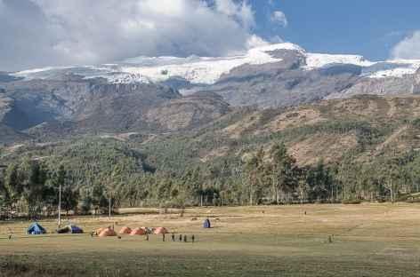 Notre camp à Copa Grande - Pérou -