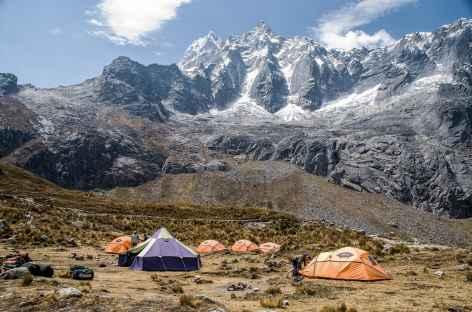 Notre camp à Tuctubamba - Pérou -