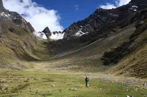 Montée au col Yanacon - Pérou -