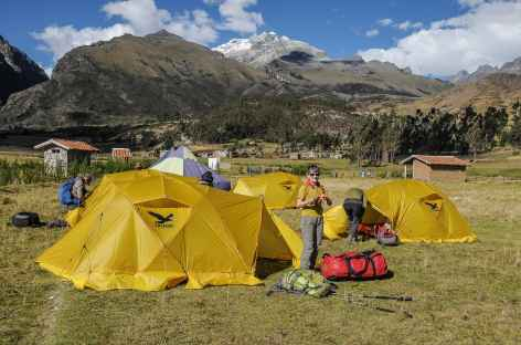 Notre camp à Kekepampa - Pérou -