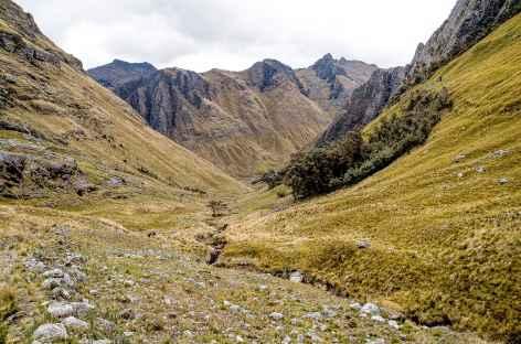 Entre le camp de base du Paso Bartolome et Chacas - Pérou -