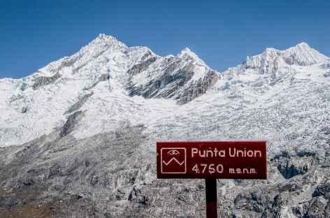 Au col Punta Union - Pérou -