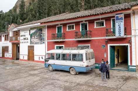 Départ du village de Chavin - Pérou -