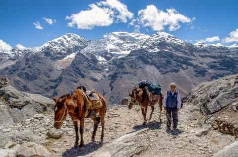 Arrivée au col Osoruri - Pérou -