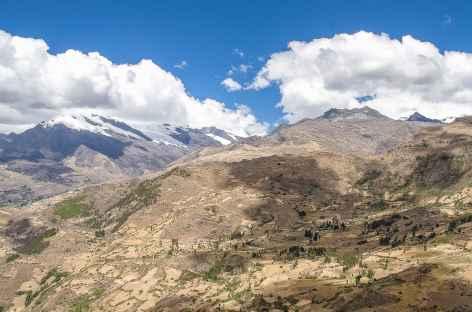 Entre la lagune Huecrucocha et le col Yanagrahirca - Pérou -