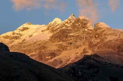 Coucher de soleil depuis Kekepampa - Pérou -