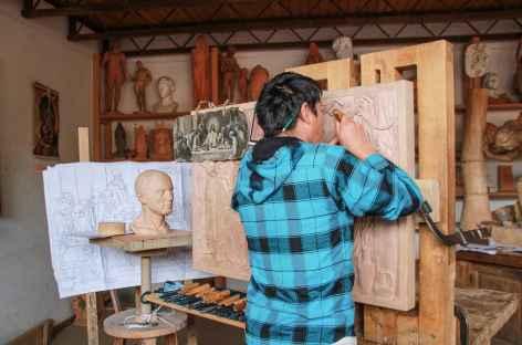 L'atelier d'apprentissage aux métiers d'art de Mato Grosso - Pérou -