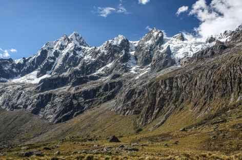 Dans la quebrada Huaripampa - Pérou -
