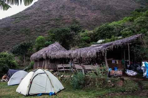 Notre 1er camp à Santa Rosa Alto - Pérou -