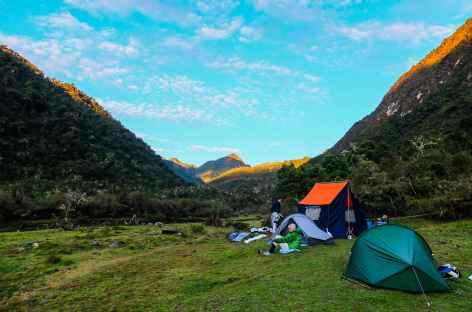 Notre camp à Vista Alegre - Pérou -