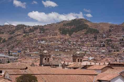 Panorama sur les toits en tuile de Cusco - Pérou -