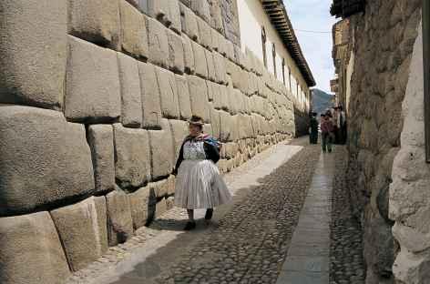 Ambiance dans les ruelles incas de Cusco - Pérou -