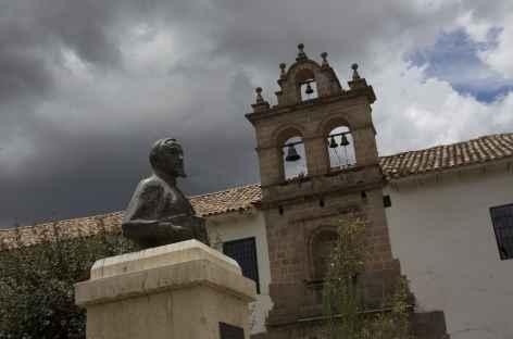Une place à Cusco - Pérou -