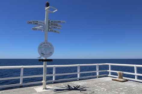 au bout du ponton de Busselton - Australie -