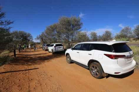 la Namatjira Drive à bord de nos 4x4 - Australie -