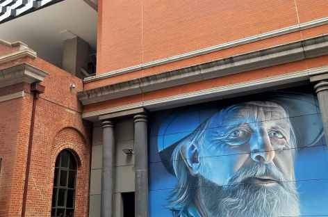 Street art dans Melbourne - Australie -